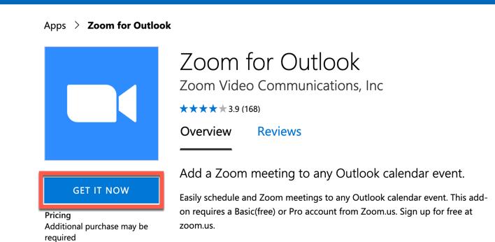 كيفية إضافة Zoom إلى Outlook لعمل فيديو كونفرنس