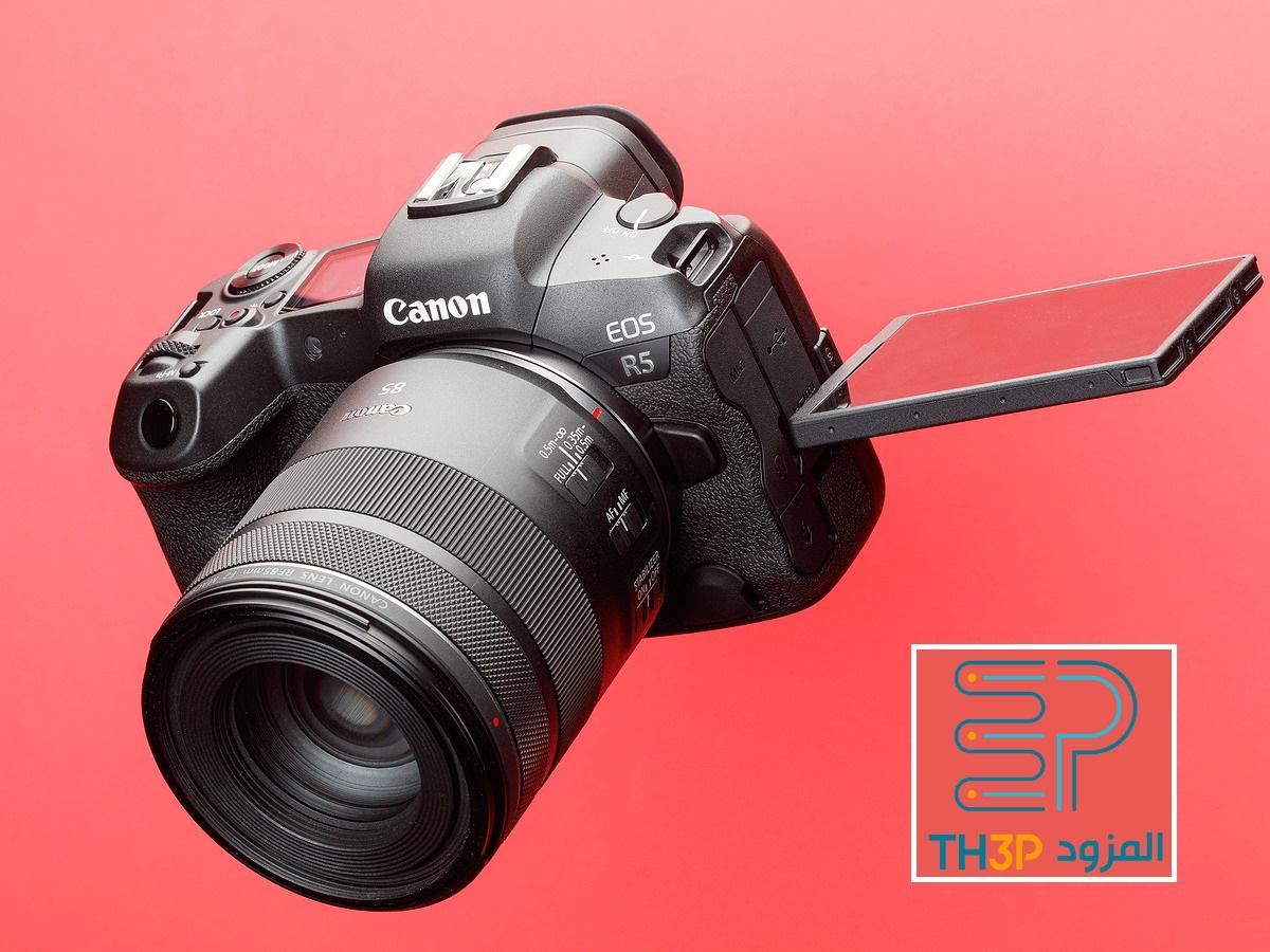 مراجعة كاميرا كانون EOS R5